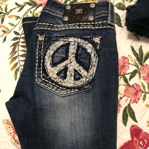 Miss Me 29 PEACE jeans boot cut